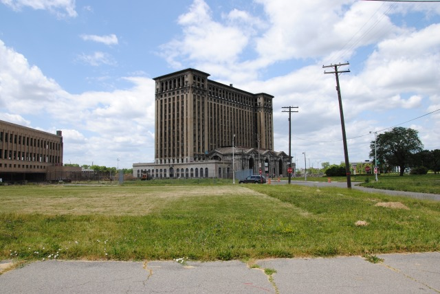 Michigan Central Station @ Detroit