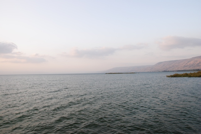 aka See Kinereth aka Sea of Galilee