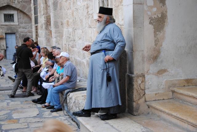 Orthodoxer Pope - welche Denomination, Konfession? Keine Ahnung.