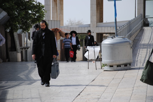 Haredim / Ultraorthodoxe in Israel (copyright: Andreas Main)