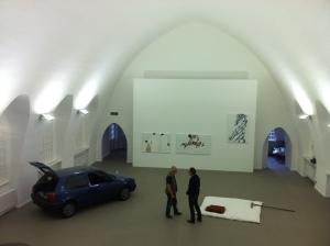 Galerie Patrick Ebensperger im ehemaligen Krematorium, copyright: Andreas Main